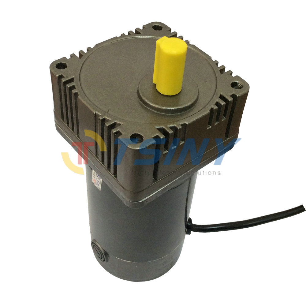 цена на 70W DC Gear motor 5GN Gear Box Gear Head 12V 24V DC Geared Motor 180RPM Speed Optional
