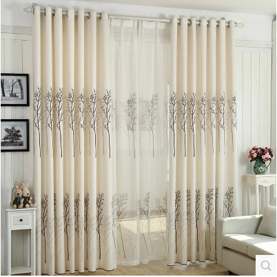 rosa modernas cortinas de tul para las ventanas cortina pura cortinas de tela para cortinas