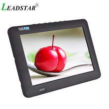 LEADSTAR Portable Digital HD LED TV 800×480 9 inch car Television Receiver dvbt2 TV support TF Card USB Audio Video
