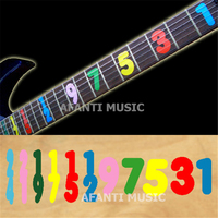 Afanti music High grade guitar finger board sticker / Shell decal / finger mark / numerical digit Inlay (FPD 113)
