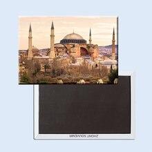 Жесткие дорожные магниты на холодильник 20929 для церкви турецкой