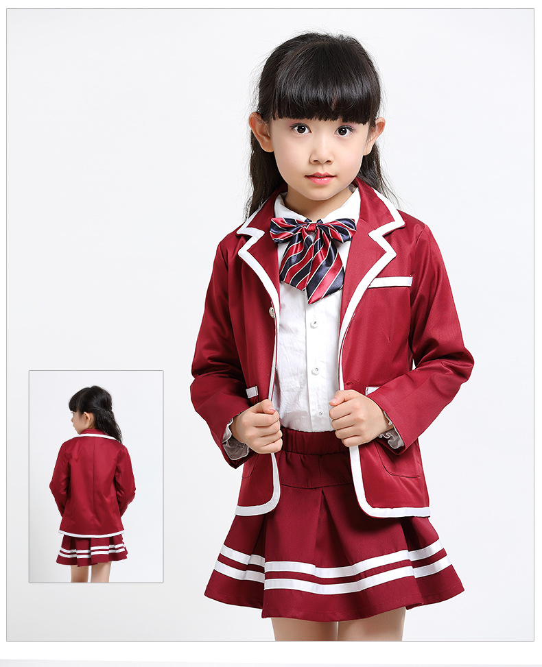 British Middle School Uniform Girl and Boys Uniforms for School