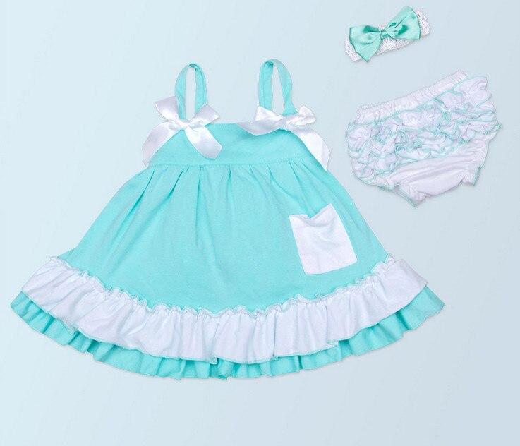 फैशन बेबी गर्ल फीता गोफन ड्रेस रफल ब्लूमर्स अंडरवीयर टॉडलर शूज़ के कपड़े, नए सूती सुंदरी नवजात शिशु उपहार