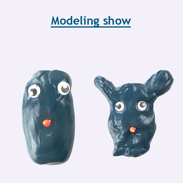 6Colors Modeling Clay Hand Putty Slime Play Dough Magnetic Rubber Mud Intelligent Plasticine Children Learning Education Toys 4