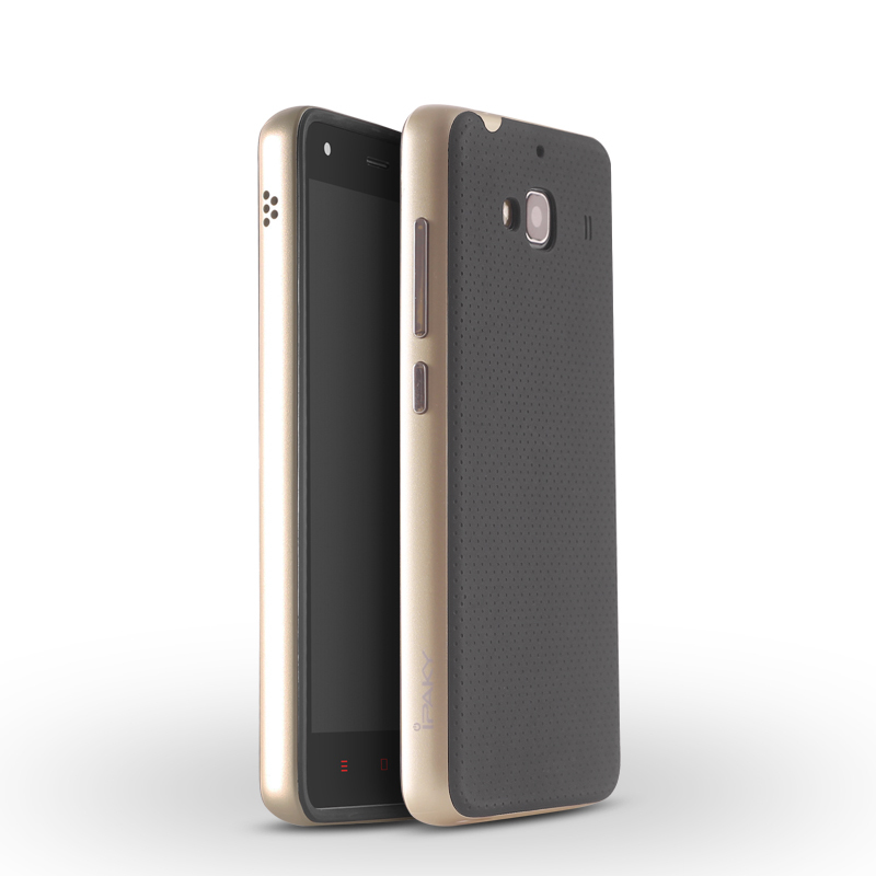 quality design 38784 05f1f For Xiaomi Redmi 2 Case Original iPaky Brand Silicone PC Hybrid Protective  Cover for Xiaomi Redmi 2 Case Cover Fundas Redmi2