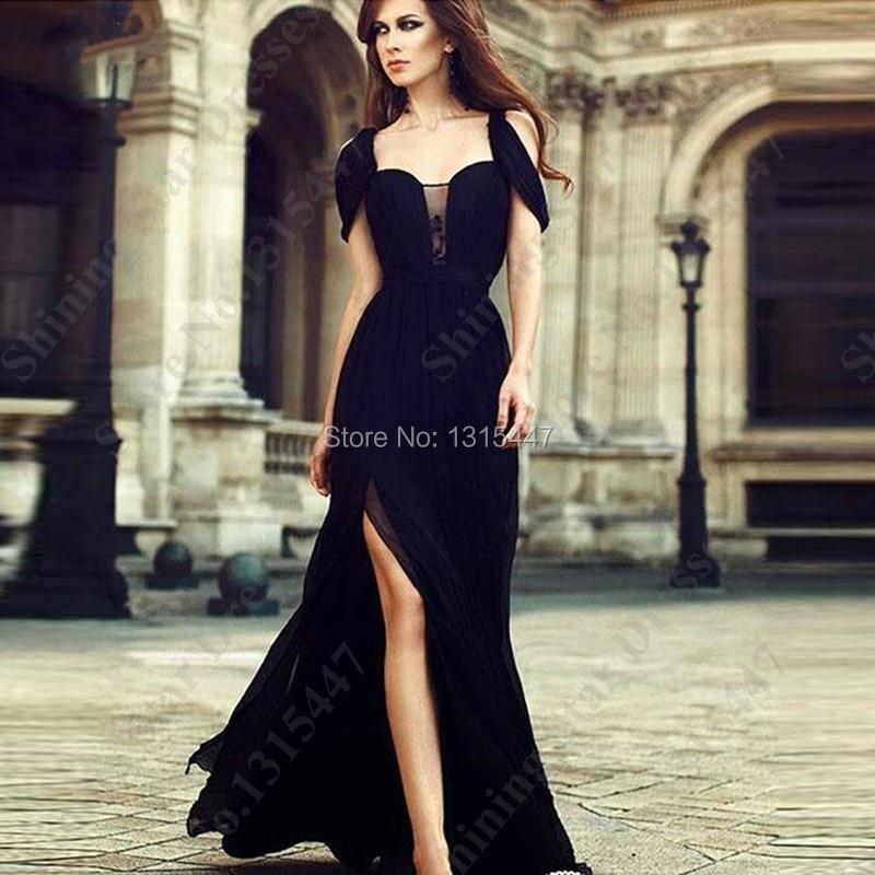 Черные платья на выпускной