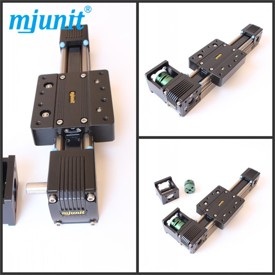 Robot Belt Drive Linear Actuator 1000mm Travel Linear Units with Belt Drive and Slide Guide Wheel Guide the manga guide to linear algebra toothed belt drive linear guideway