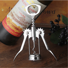 Multifunction Red Wine Bottle Opener Grape Manual bottle openers Beer zinc alloy Kitchen Cooking Tool