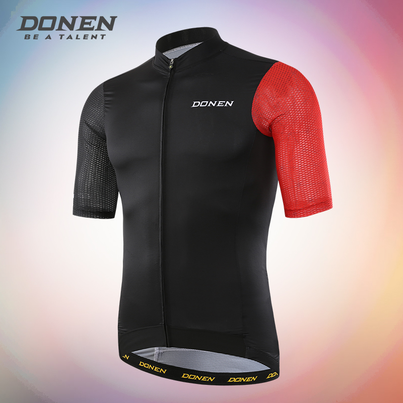 DONEN ITALY QUALITY PRO short sleeves cycling jersey bicycle shirt bicycle jersey for men santa dxman short sleeves t shirt for men