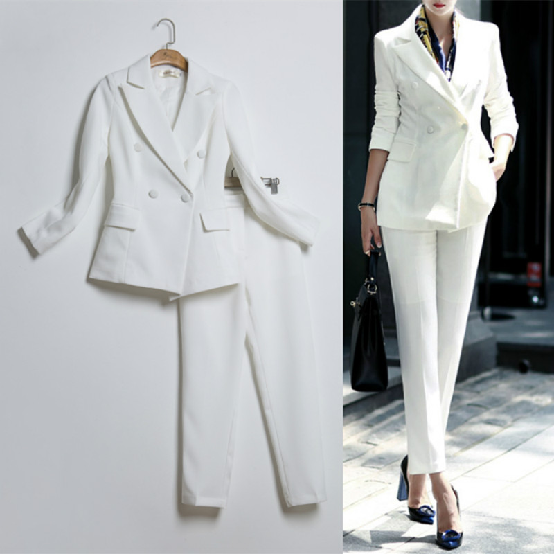 2017 new spring and summer fashion temperament suits suit suit women
