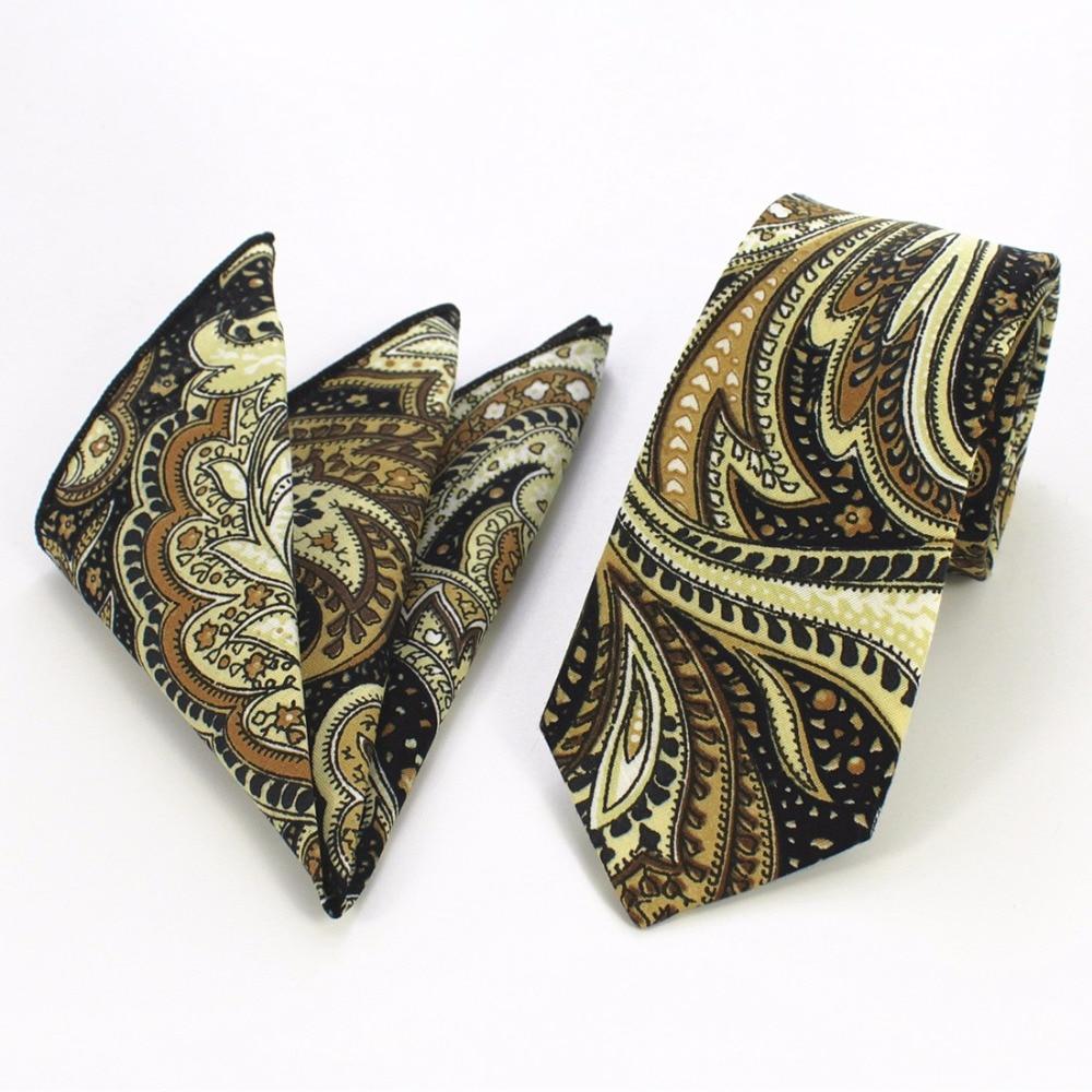 GUSLESON Brand New Ерлер Hanky Tie жиынтықтары - Киімге арналған аксессуарлар - фото 2