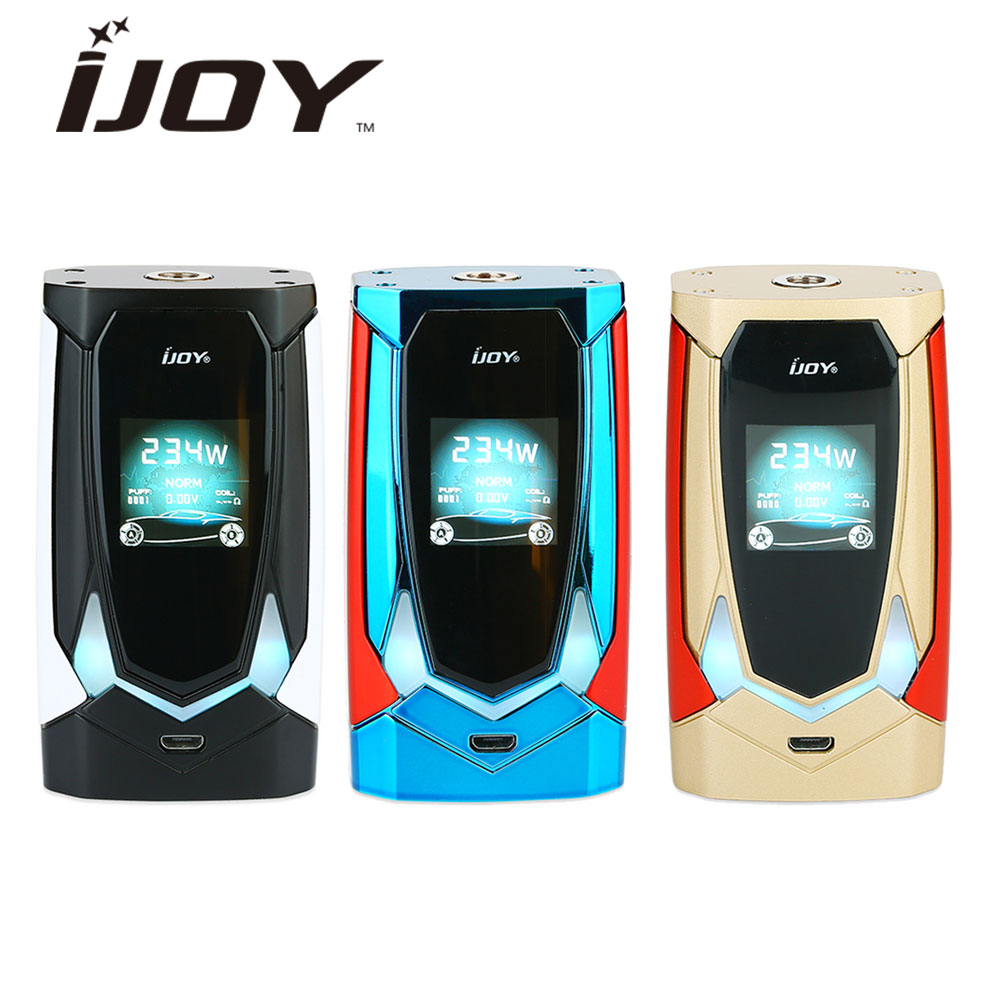 IJOY Avenger 270 234W Voice Control TC Box MOD Max 234W & English Voice Control No 18650/20700 Battery Vs Drag 2/ Shogun/ LuxeIJOY Avenger 270 234W Voice Control TC Box MOD Max 234W & English Voice Control No 18650/20700 Battery Vs Drag 2/ Shogun/ Luxe