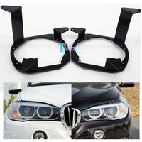 Car Styling Frame Adapter Module Set DIY Bracket Holder For BMW X5 High Beam Hella 3