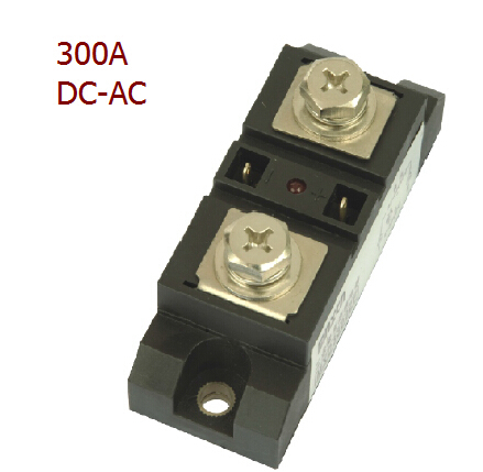 Factory price 300A industrial solid state relay, DC- AC ssr , ac solid state relay, single phase ssr free shipping mager 10pcs lot ssr mgr 1 d4825 25a dc ac us single phase solid state relay 220v ssr dc control ac dc ac