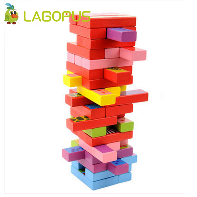 Lagopus Classic Bricks Blocks Game Stacked Layers Hard Wood Building Intellectual Wooden Toys [vk] 743370951 vhdci stacked rcpt w cvr 136ckt connectors