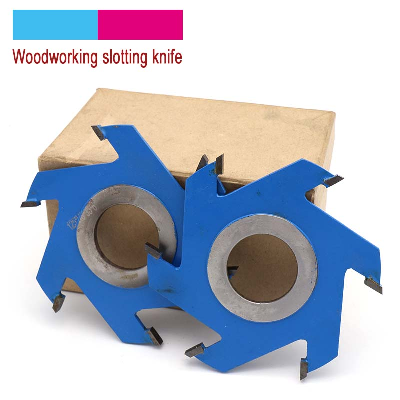 1pcs 5-10mm Slotted Saw Blade Cutter Shaper Milling Cutter Head For Woodworking Cork Hardwood MDF Tools