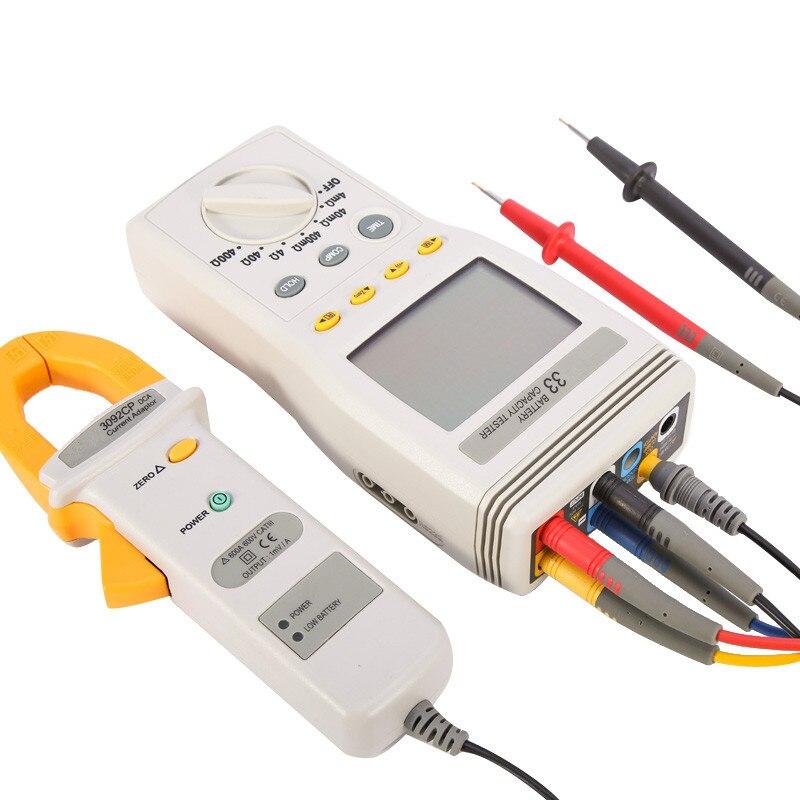 Testeur de capacité de batterie au Lithium d'origine DCA/DCV/capacité/résistance/température avec compteur de batterie USB Datalogger livraison gratuite