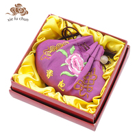 Xiefuchun Romantic Lavender Perfume Natural Herb Purple Sachet Scented Wardrobe Car Fresh Perfume Fragrance Deodorat Bag