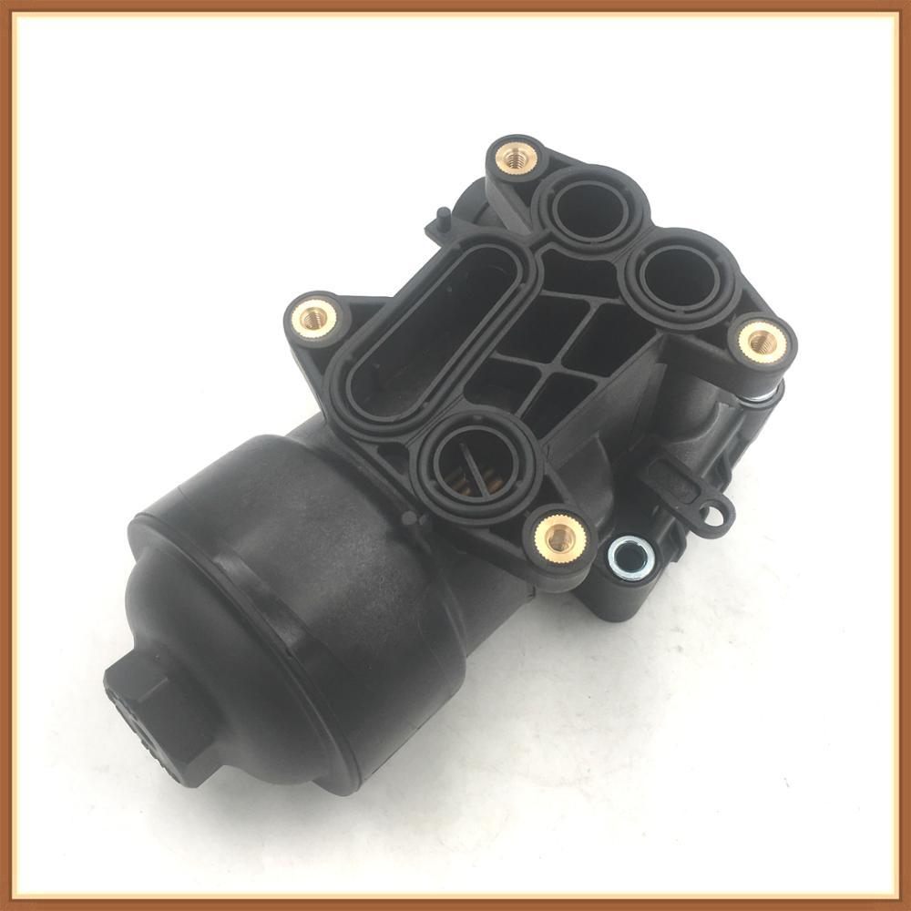 03L115389C Oil filter assembly//Cooler 03L115389B