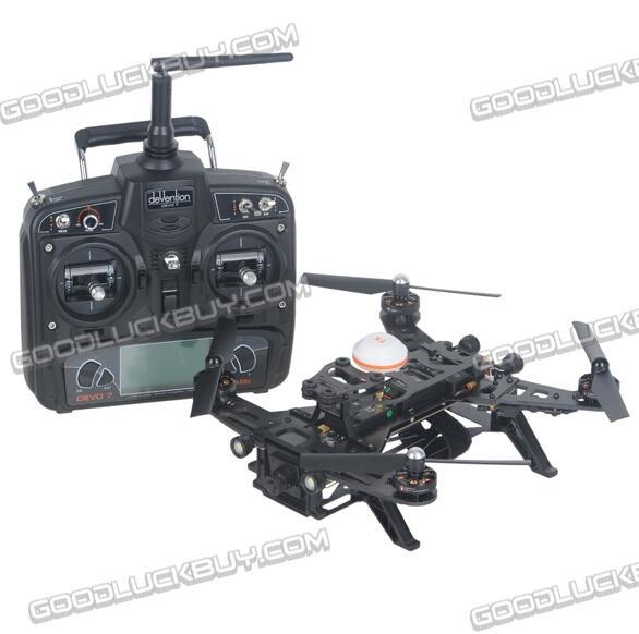 Walkera Runner 250 RTF Quadcopter with DEVO 7 Remote Controller Balance Charger Battery Camera Telemetry for FPV игрушка на радиоуправлении rc walkera qr v2 rtf w4ch devo 4 tx rtf f03320 5 qr ladybird v2