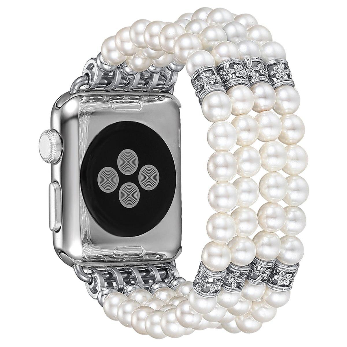Bracelet Perles Apple Watch Femme