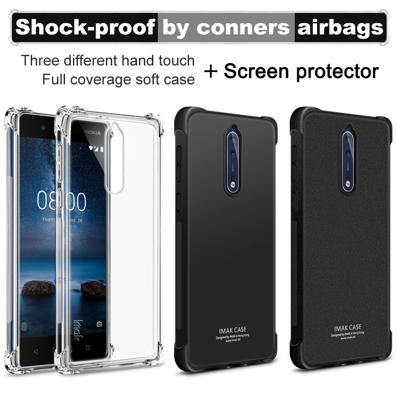 Mokoemi Ultra Thin Slim Clear Soft Tpu 5.3for Nokia 8 Case For Nokia 8 Cell Phone Case Cover Clothes, Shoes & Accessories
