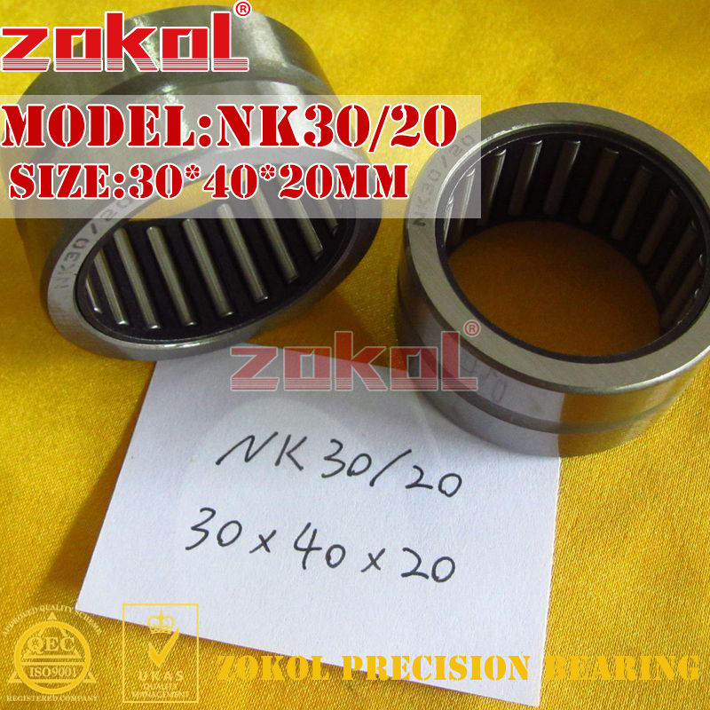 ZOKOL bearing NK30/20 needle roller bearings with-out inner ring    30*40*20mm rna4913 heavy duty needle roller bearing entity needle bearing without inner ring 4644913 size 72 90 25