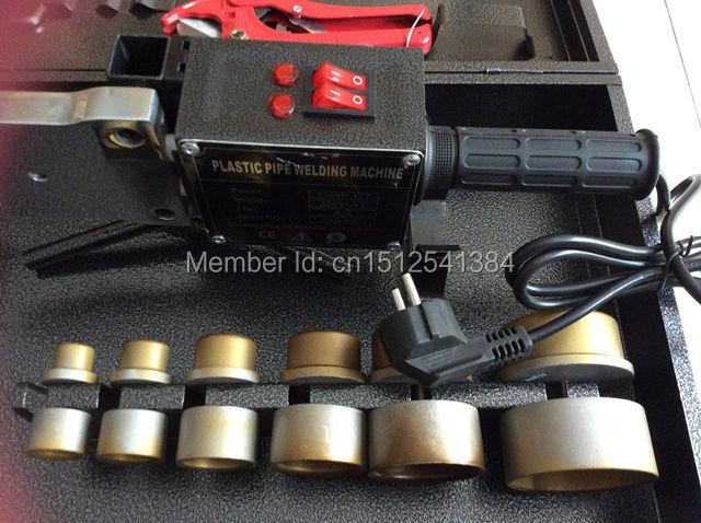 Máquina de soldadura de tubos de tubos PPR de doble temperatura - Equipos de soldadura - foto 5