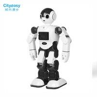 Cityeasy голос Управление Интеллектуальный робот робота гуманоида программирования приложение Управление безопасности ребенка образование д