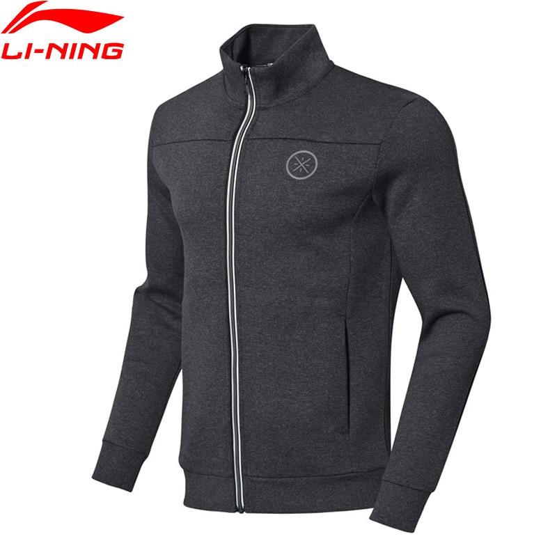 Li Ning Wade Series Sweater Regular Fit 66 Polyester 34 Cotton Zipper Closure LiNing Sport Hoodie