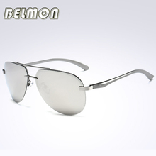 2017 Fashion Aviation Polarized Sunglasses Men Women Driver Pilot Brand Designer Sun Glasses For Male Driving UV400 Oculos RS057