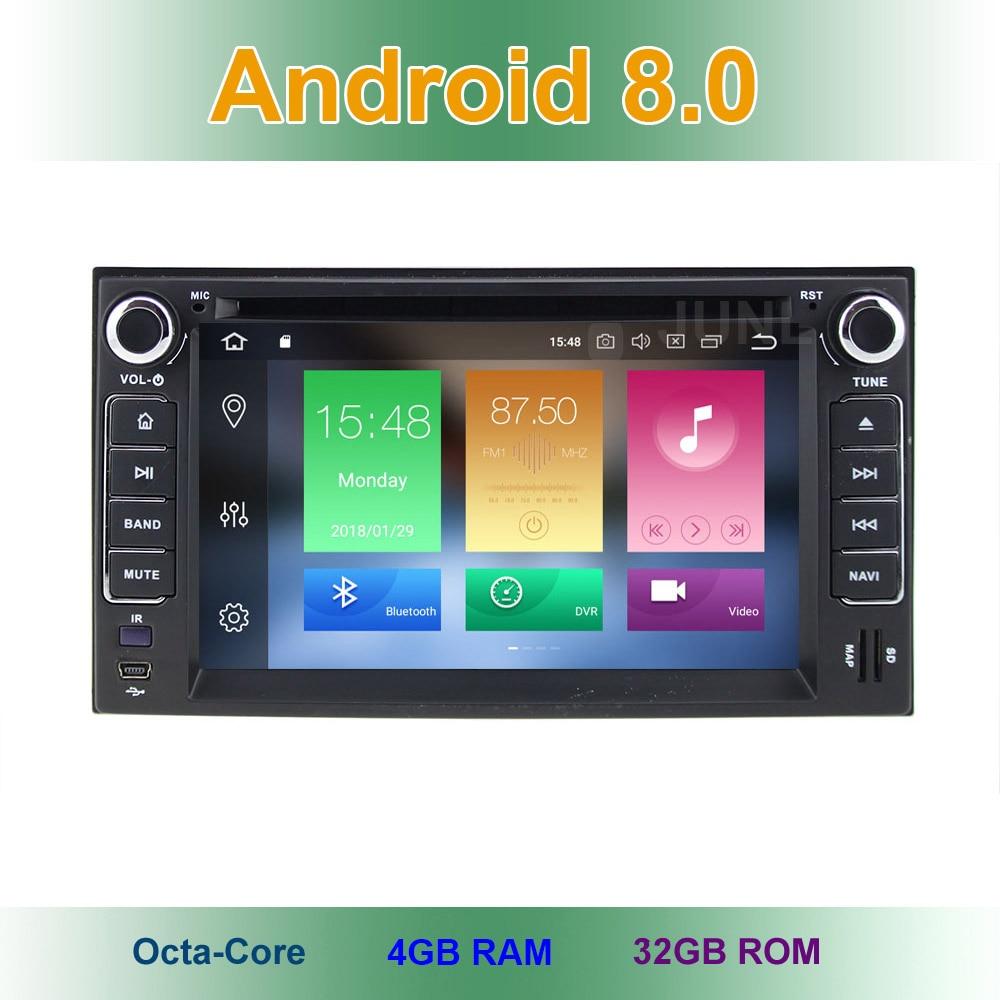 4 GB RAM Android 8.0 Lecteur DVD de Voiture pour KIA SORENTO SPORTAGE SPECTRA SEDONA ÉTOILES CARNAVAL CERATO CARENS avec GPS Radio BT WiFi
