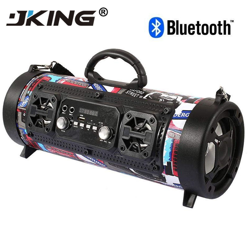Hifi Tragbare Bluetooth Lautsprecher Fm Radio Bewegen Ktv 3d Sound Einheit Drahtlose Surround Tv Sound Bar Subwoofer 15 W Im Freien Lautsprecher + Mic Dinge FüR Die Menschen Bequem Machen
