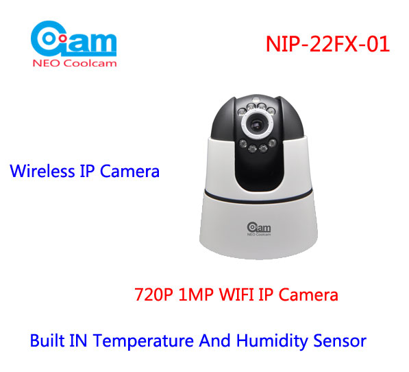 4e5c6b910b0 COOLCAM NIP-22FX-01 720P IP Camera 1.0M 3.6mm len Wifi Network Surveillance  Security Camera With Temperature And Humidity Sensor