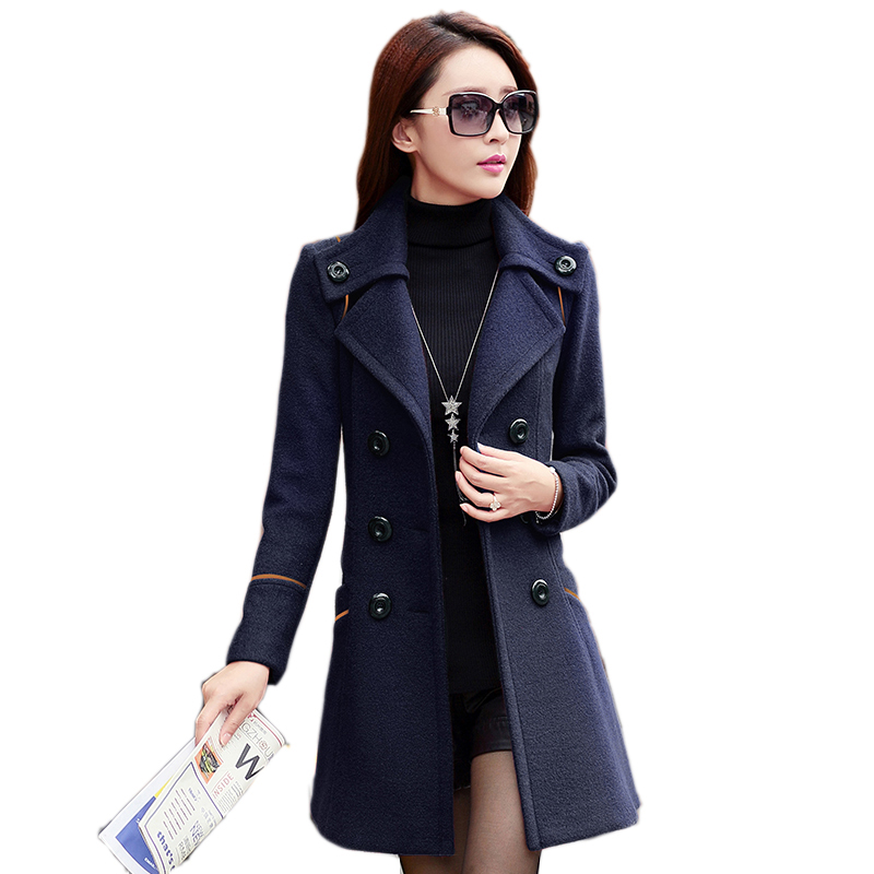 Aliexpress Com Buy 2015 Double Breasted Trench Coat For