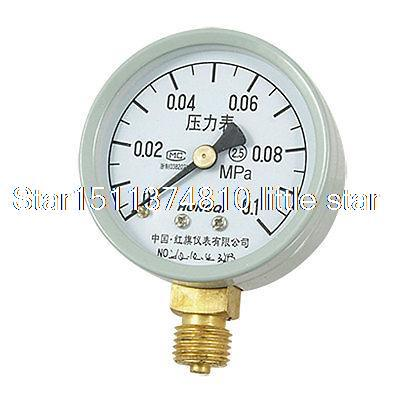 0.55 Theaded 0.1 MPa Liquid Air Pressure Measure Gauge car tire pressure gauge tire pressure gauge with gas air pressure gauge for car fit for motorcycle bicycle type measure meter