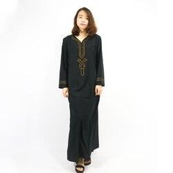 Мусульманское платье исламское одежда Абая, для мусульман одежда Турецкий Исламская одежда Турция мусульманская женское платье CC002