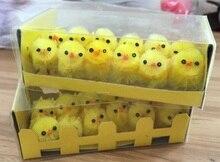Mini žlutá velikonoční kuřátka 12ks/bal