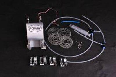 Système de frein à disque hydraulique à 4 roues en métal pour pièces de voiture rc grand camion monstre ROVAN FG 1/5 échelle