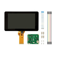 Raspberry Pie Official 7 Inch Touch Screen 10 Capacitance Touch Screen Support The Raspberries Pie 3B