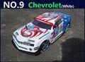 Grande 1:10 RC Car alta velocidad Racing Car 2.4 G Chevrolet 4 ruedas de Control remoto Sport Drift Racing Car Model juguete electrónico