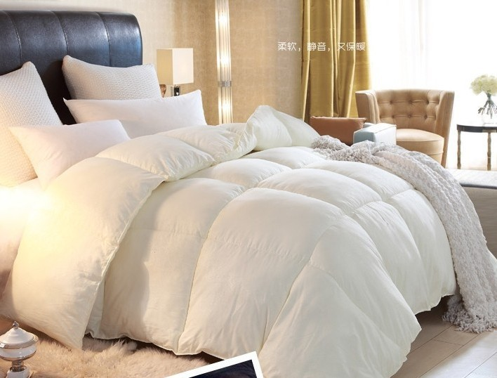 Free Shipping White Comforter Set Bedding,Thick Winter Quilt,Adult  Duvet,sexy Christmas Down Comforter,luxury Hotel In Comforters U0026 Duvets  From Home ...