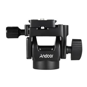 Image 2 - Andoer M 12 Einbeinstativ Neigekopf Panoramakopf Tele Vogelbeobachtung mit Schnellwechselplatte