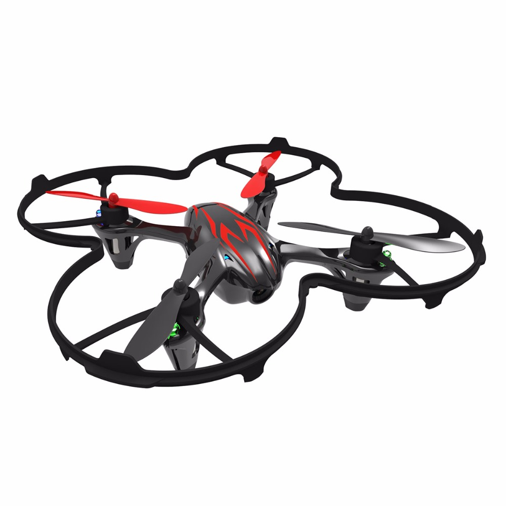Hubsan H107C X4  2.4G 4CH Mini Quadcopter RC Helicopter RTF with 480P HD Video Camera Mini Drones Remote Control Toys Black/Red электрический чайник scarlett sc ek14e04