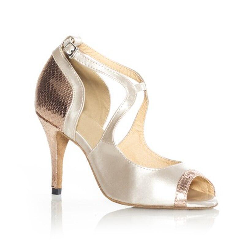 Mujer Para Salsa De Zapatos Baile Salón Sandalias Latino Lkjt1fc kwTOXulPZi