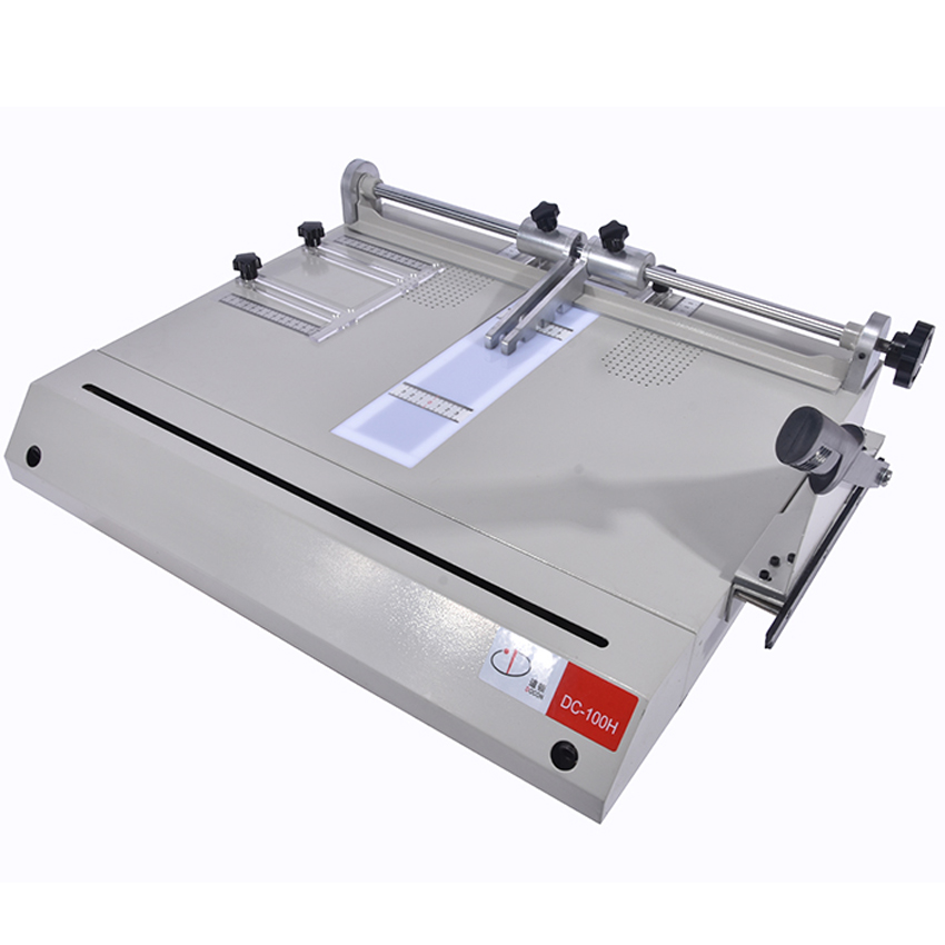 Hardcover making machine DC 100H hardcover case maker A4 vertical loading book cover making machine Hot
