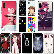 Print Attack On the Giants Bangtan BTS Phone Cover for Xiaomi Redmi Note 6 Pro Case 5 4A 5 Plus 5A Prime 4X 6A Covers Skin(China)
