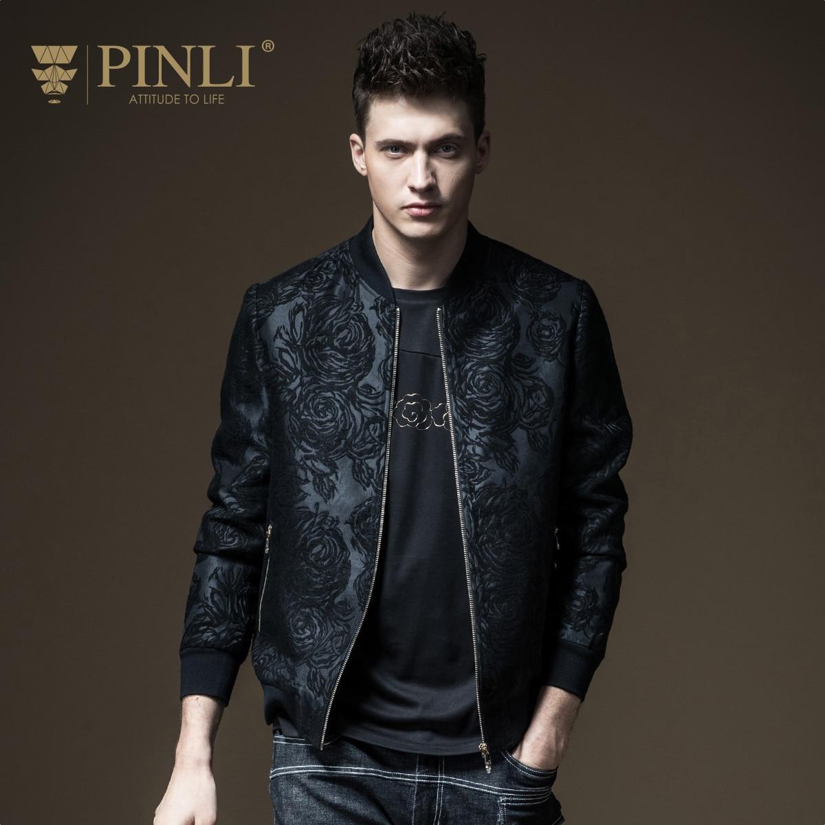 e405f078b2 2019 Casaco Masculino O-neck Slim Military Pinli, 2017, Fall New Menswear,  Jacquard Jacket, Coat, Men's Clothing, B173104027