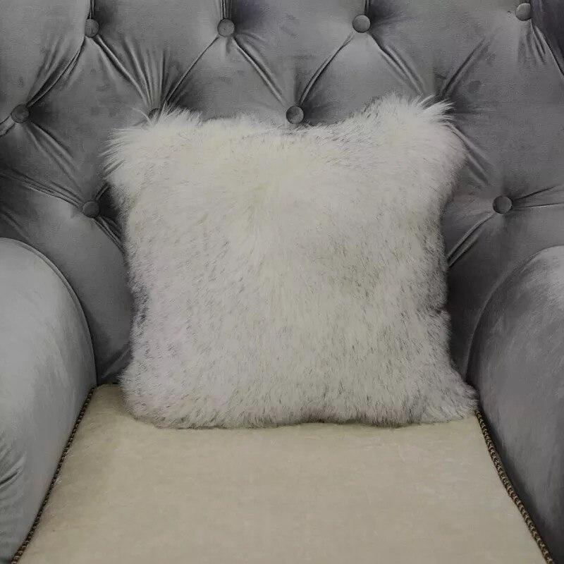 sheepskin pillow item new simanfei decor cushion faux super fur warm sofa home winter