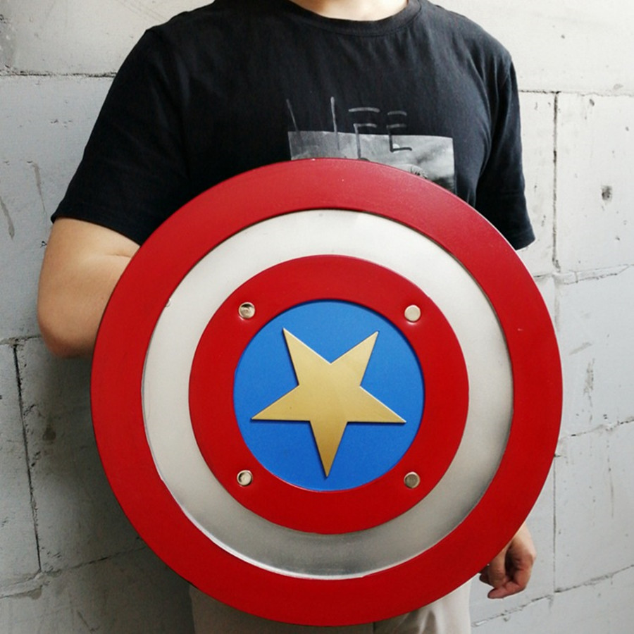 Avengers Captain America Shield Weapon Props Marvel Superhore Steve Rogers Cosplay Toy Accessories Props